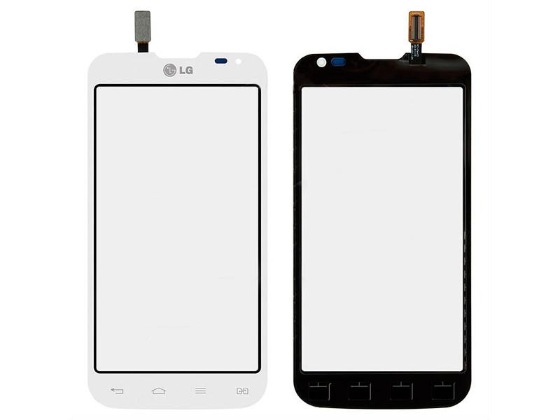 Сенсорный экран LG D410 Optimus L90 Dual белый (тачскрин, стекло в сборе), Сенсорний екран LG D410 Optimus L90 Dual білий (тачскрін, скло в зборі)