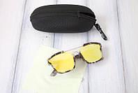 Стильные очки с зеркальным покрытием