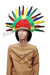 Парик индейца детский