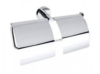 BEMETA OMEGA: Двойной держатель туалетной бумаги с крышкой