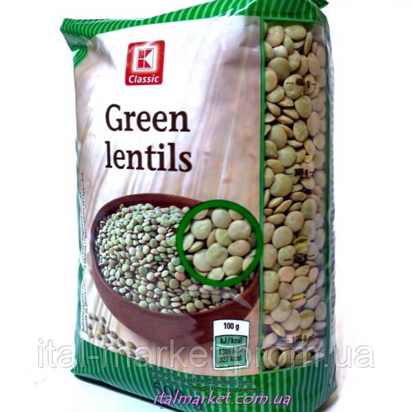Чечевица Green Lentils 500г
