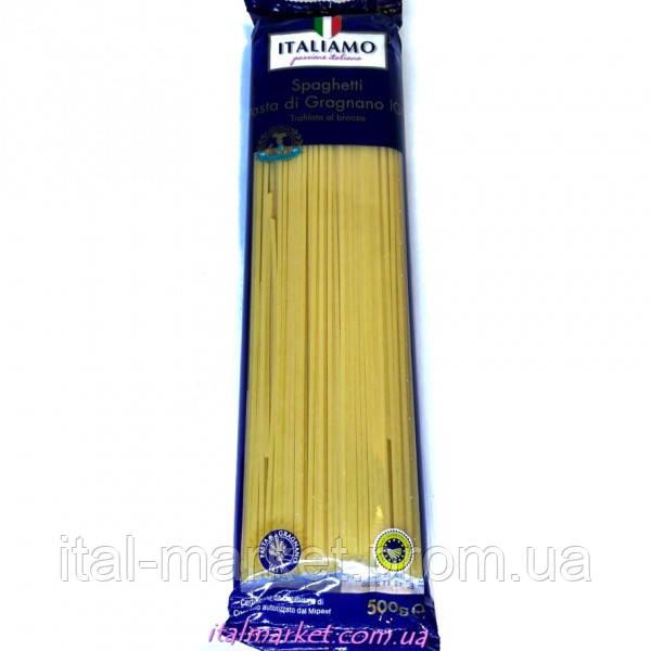 Спагетти Итальямо Spagetti Pasta di Gragnano IGP 500 г, Италия