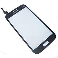 Оригинальный сенсорный экран Samsung I8552 Galaxy Win Duos серый (тачскрин, стекло в сборе)