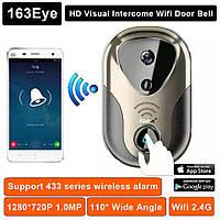 Камера IP WI-FI 163 EYE L1 Smart  видеодомофон с функцией фото и видео посетителей