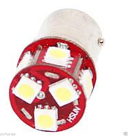 Led лампы в габарит P21W, BA15S 8Leds 5050SMD, 6V