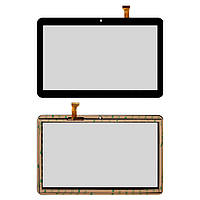 Сенсорный экран Nomi C10102 Terra+ 10,1 черный, FX-C10.1-192 (тачскрин, стекло в сборе)
