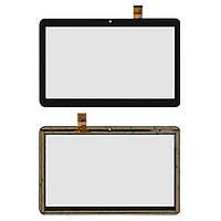 Оригинальный сенсорный экран Nomi C10104 Terra S 10 3G черный (30 pin), RP-400A-10.1-FPC-A3 SLR (тачскрин, стекло в сборе)