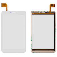 Сенсорный экран Nomi C070020 Corsa Pro 7 3G (51 pin) белый, FPCA-70A23-V01 (тачскрин, стекло в сборе)