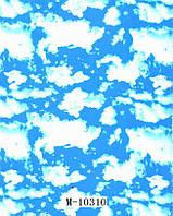 Аква печать пленка небеса М-10310 (ширина 100см)