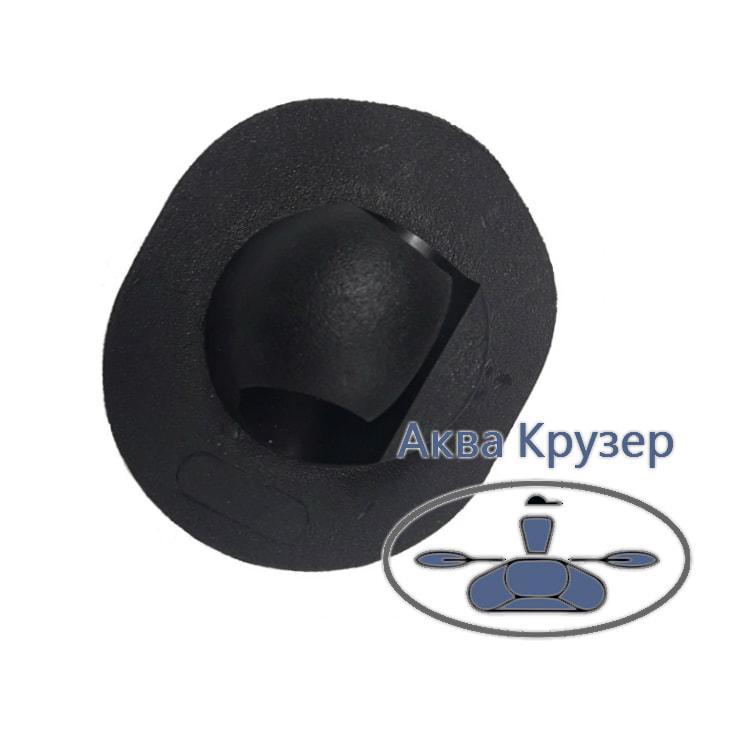Тримач весла для надувних човнів ПВХ, колір чорний