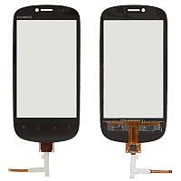 Сенсорный экран Huawei U8850 черный (тачскрин, стекло в сборе)
