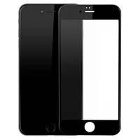 Защитное стекло дисплея iPhone 6 черное (0,3 мм, 3D) с покрытием Silk Screen