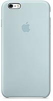 Чехол-накладка iPhone 6 голубой (силиконовый)