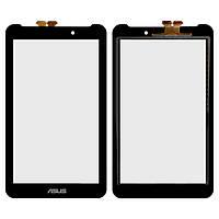 Сенсорный экран Asus FonePad 7 FE170CG черный (тачскрин, стекло в сборе)