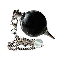 Маятник шар Шерл (черный турмалин), фото 1