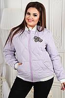 Женская демисезонная куртка бомбер Пчела