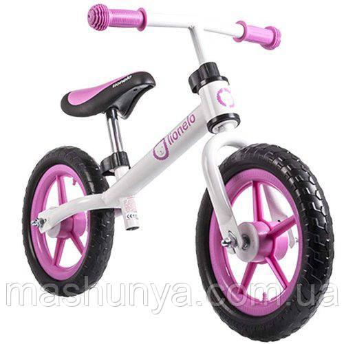 Беговел - велобег Lionelo Fin Plus 12 дюймов колеса