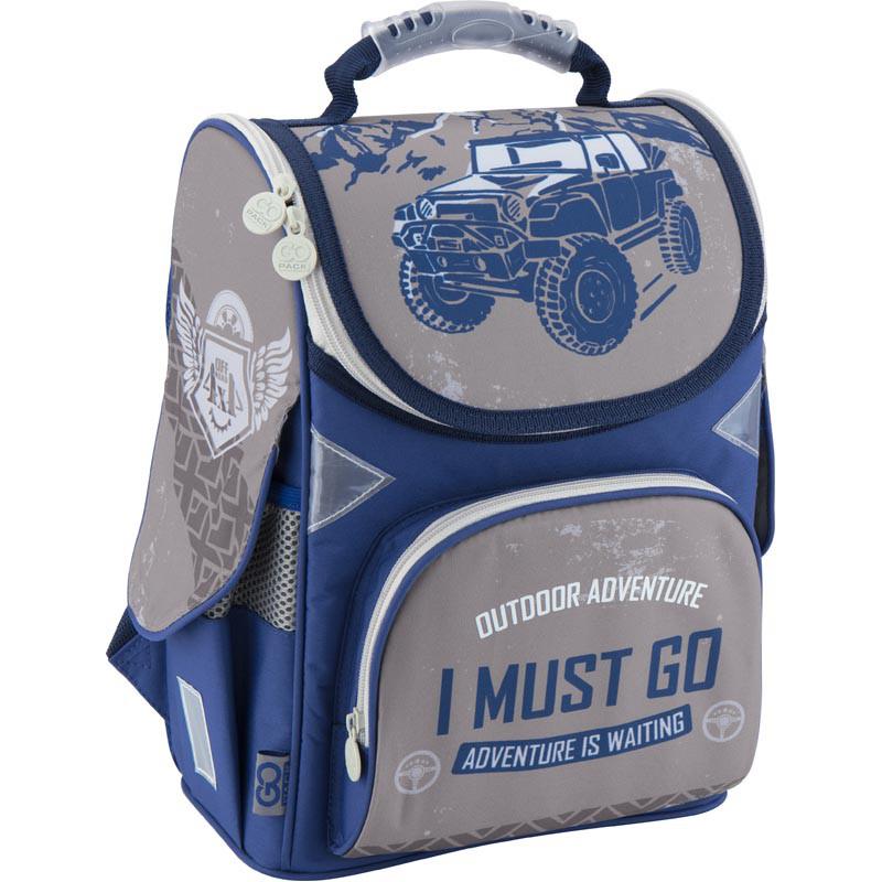 Рюкзак школьный каркасный GoPack 5001S-18 GO18-5001S-18