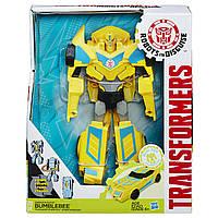 Робот-трансформер Бамблби 23 см - Bumblebee, RiD, Weaponizers, Hasbro