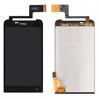Оригинальный дисплей HTC One V T320e черный (LCD экран, тачскрин, стекло в сборе)