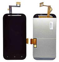 Оригинальный дисплей HTC Desire SV T326e черный (LCD экран, тачскрин, стекло в сборе)