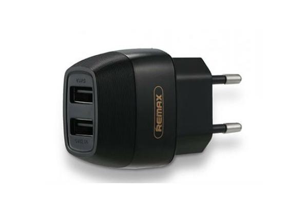 Сетевое зарядное устройство с евровилкой Flinc RP-U29 2.1A 2*USB 220V Remax 345002