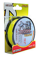 Леска Nomura OTOSHI YELLOW 135м(150yds)  0.25мм  9.50кг цвет-yellow (желтый)