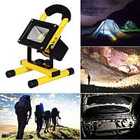 Кемпинговый фонарь, светильник на природу, переносной  автономный прожектор 10Вт Klaus