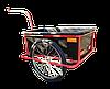 Велоприцеп с пластиковым кузовом