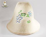 Банная шапка из натуральной шерсти, фото 1