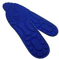 Стельки для обуви СПОРТ кроссовочные синие