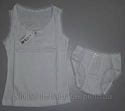 Комплект нижнего белья для девочки белый (Sevim, Турция)