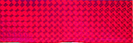 Наклейка 3D Balzer для блесен red/waves 2шт.