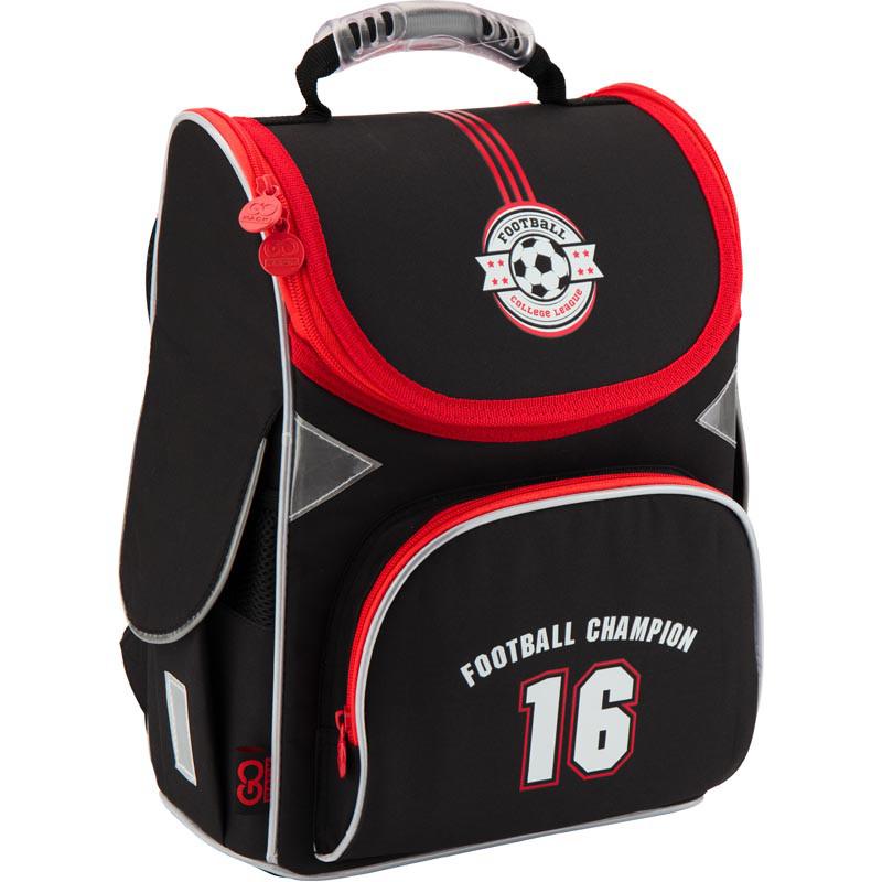 7fa892b9e582 Купить Рюкзак школьный каркасный GoPack 5001S-20 GO18-5001S-20 в ...