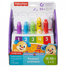 Интерактивная игрушка «Fisher-Price» (FLN98) Умные карандашики (укр.)