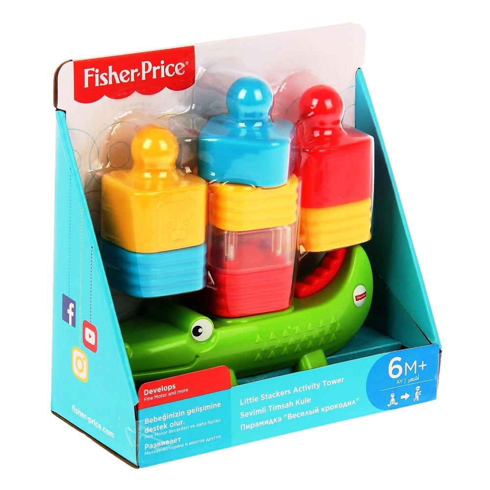 Развивающие и обучающие игрушки «Веселый крокодил» (DRG34) Fisher Price