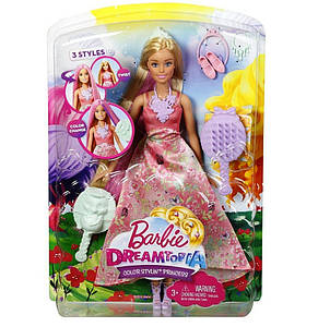 Куклы и пупсы «Barbie» (DWH41) Принцесса Barbie Волшебные волосы, фото 2