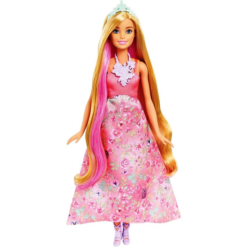Куклы и пупсы «Barbie» (DWH41) Принцесса Barbie Волшебные волосы
