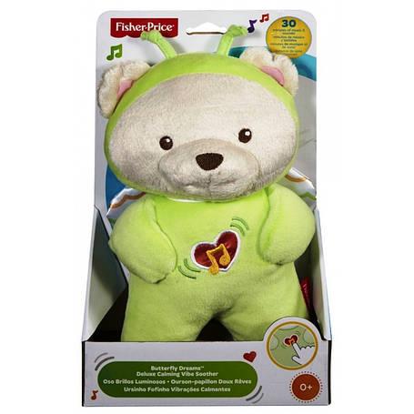 Интерактивная игрушка «Fisher-Price» (DFP20) плюшевый медвежонок Сон бабочки, фото 2