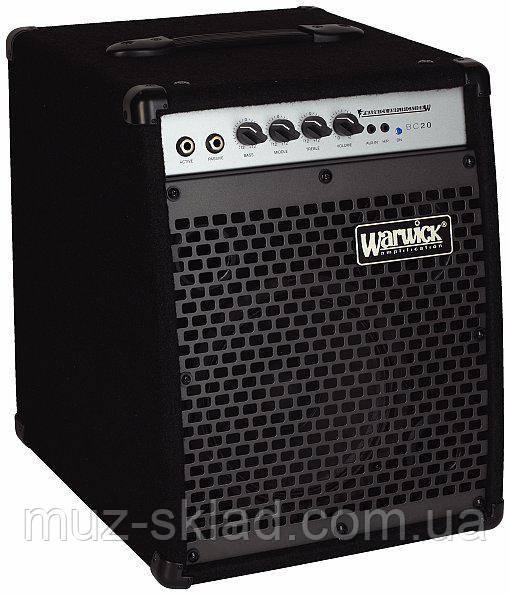 Комбоусилитель для бас-гитары Warwick BC20