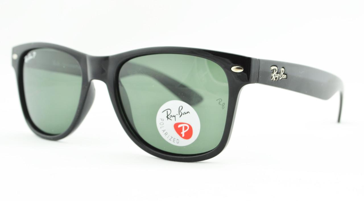 Солнцезащитные очки Ray Ban Wayfarer Polarized поляризованные 2140  (реплика) - Оптово-розничный интернет 509f91f514a