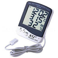 Цифровой термометр гигрометр для инкубатора с выносным датчиком TA 218 A