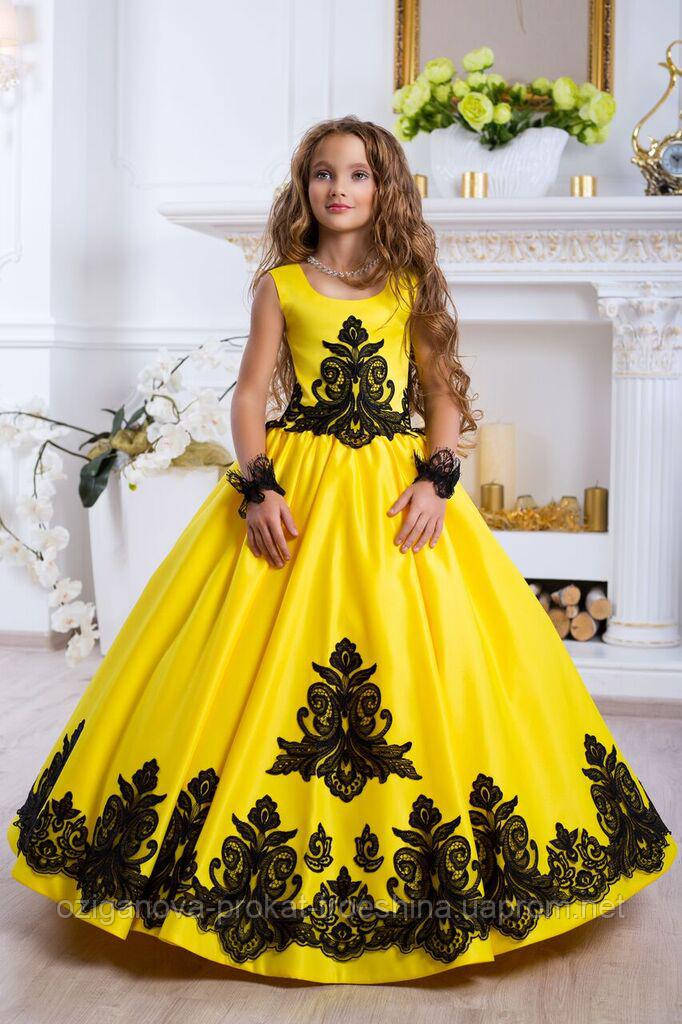 cf5b49e193c Детское нарядное платье 2018 sh-015 - прокат