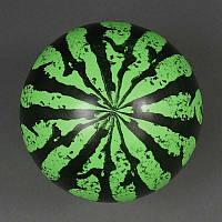 """Мяч детский резиновый 466-520 (500) """"Арбуз"""" 60 грамм, размер 9"""""""