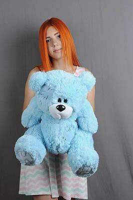 """Плюшевый мишка """"Тедди"""", голубой, 50 см."""