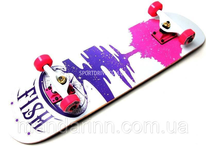 Скейтборд деревянный от FISH SKATEBOARD TREE 100107