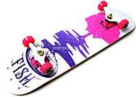 Скейтборд деревянный от FISH SKATEBOARD TREE 100107, фото 1