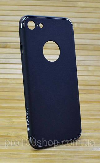 Пластиковый чехол на Айфон, iPhone 7 FSHANG Seven Send чёрный