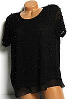 Блуза женская с жемчугом Турция №6 размер M