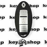 Оригинальный смарт ключдля RENAULT Kadjar (Рено Каджар) 2 - кнопки с чипом ID 46, PCF 7952 / 434 MHZ
